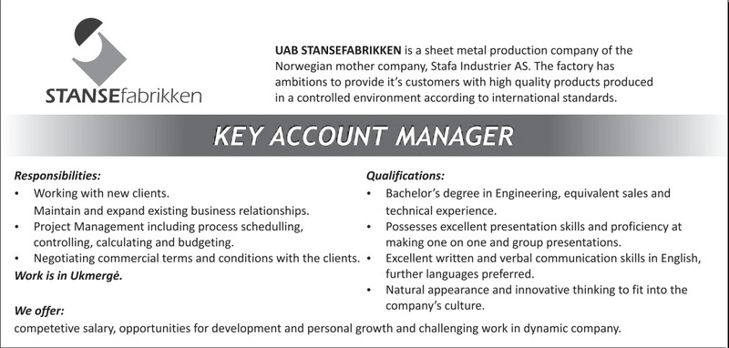 cv for account manager ~ Inspirenow